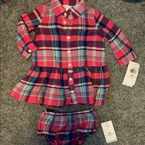 Ralph Lauren 6 month Plaid Dress